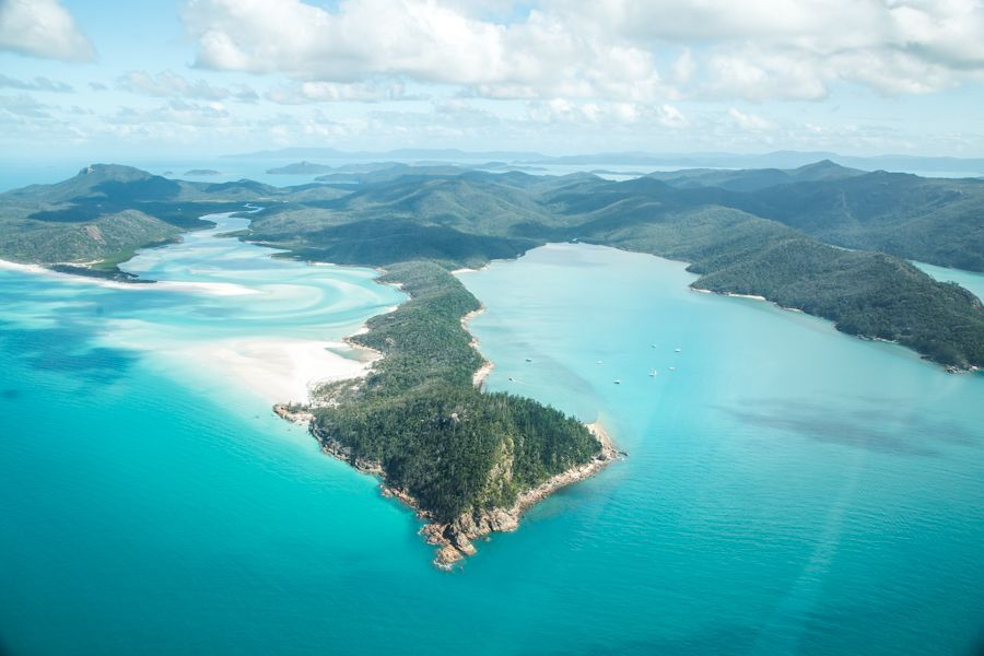 Great Barrier Reef land history Whitsunday Islands