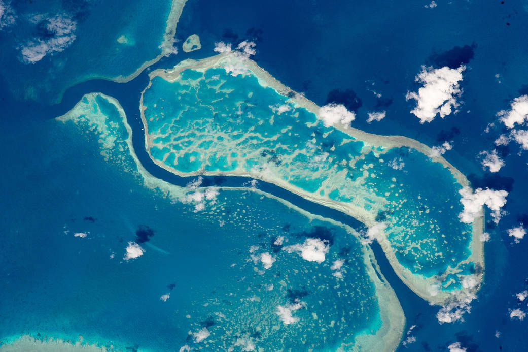 Nasa Great Barrier Reef From Space