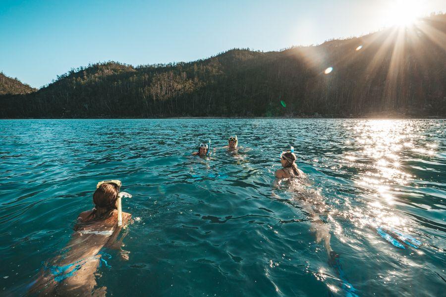 Whitsunday Aquamarine turquoise waters snorkel