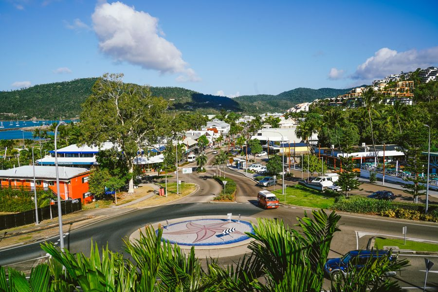 Airlie Beach Whitsunday Islands Streets Travel Hub