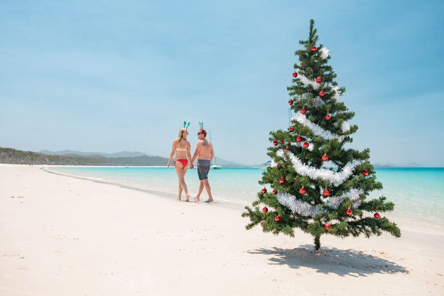 Christmas Whitehaven Beach