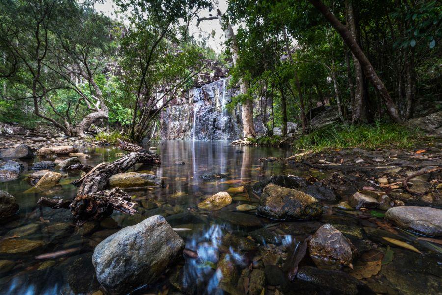Cedar Creek Falls - Sailing Whitsundays
