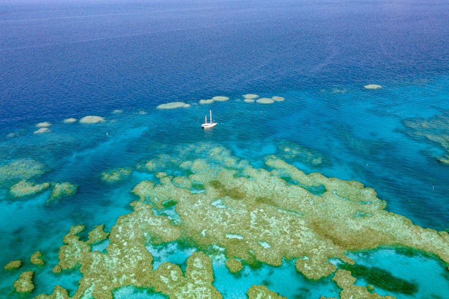 The Great Barrier Reef Whitsundays Sailing Kiana