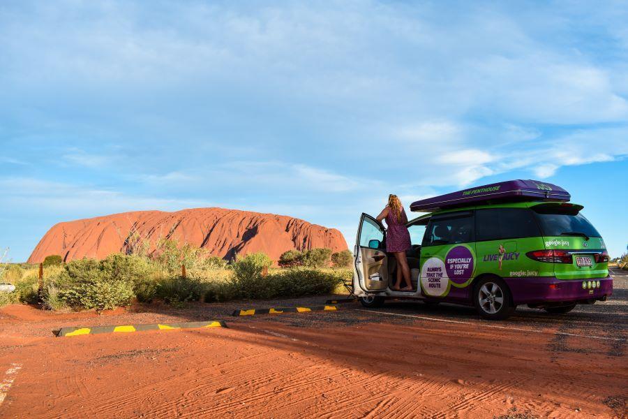Jucy Campervan Uluru