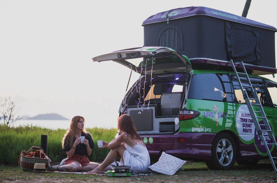 Jucy Campervans Mission Beach