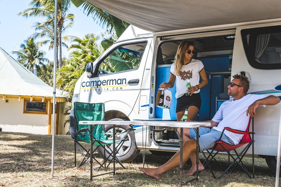 Camping in Airlie Beach Nomads