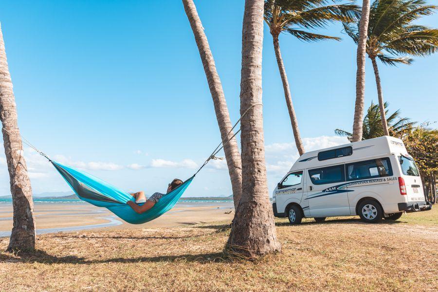 Camping in Bowen, Queensland