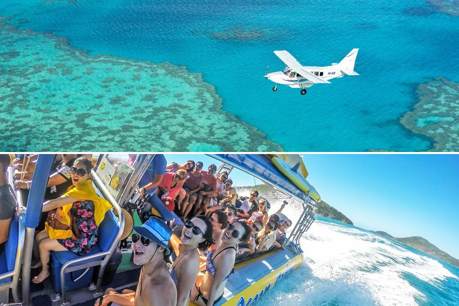 Fly and Raft Whitsunday packages