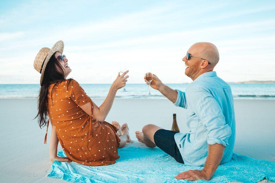 Whitehaven Beach couple romantic package deals Whitsundays