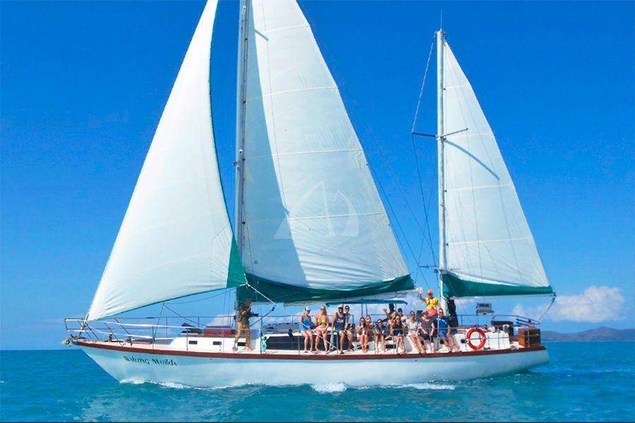 Waltzing Matilda vessel, Whitsunday, Australia
